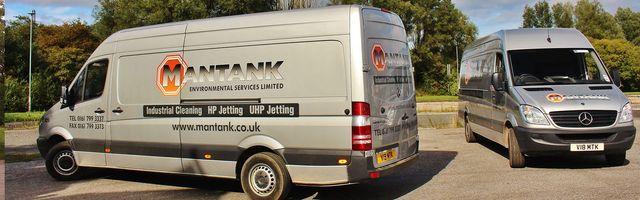 side view of the MANTANK van