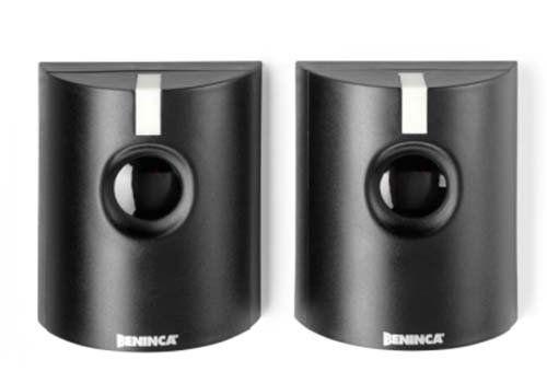 due videocamere di sicurezza