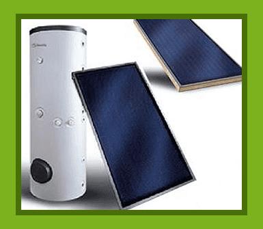produzione acqua calda, energia raggi del sole, energia verde