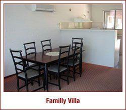 Dinning table in Family Villa