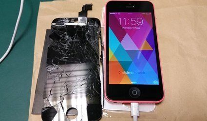 Quick phone fixes and screen repairs