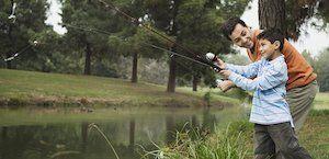 father son fishing celebration of life