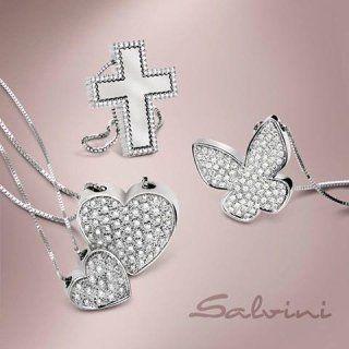 pendenti con perline a forma di cuore, farfalla e croce
