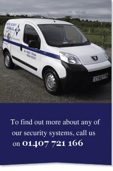 Security systems - Porthmadog, Gwynedd - Bridge Security Systems Ltd - man inputs security codes