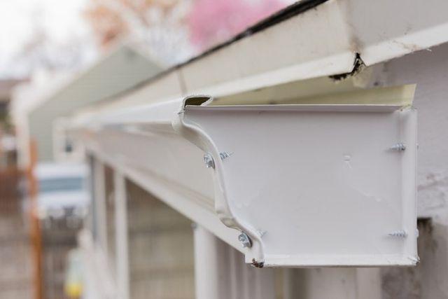 New Windows Aluminum Gutters Seamless Rain Gutters