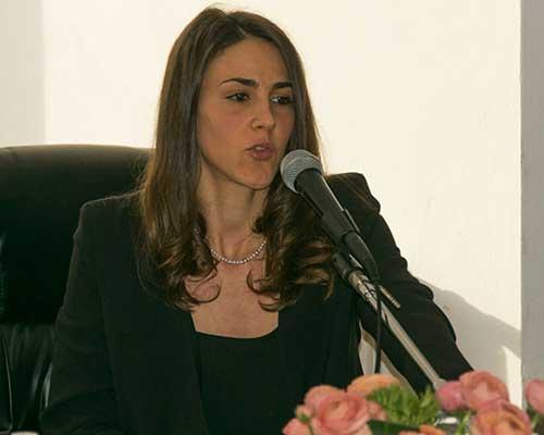 la dott.ssa Sciolè Alessandra, sua figlia, laureata magistrale in Psicologia