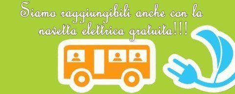 Trasporto gratuito con navetta elettrica