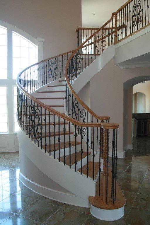 Wood Stair Parts Floors Inc
