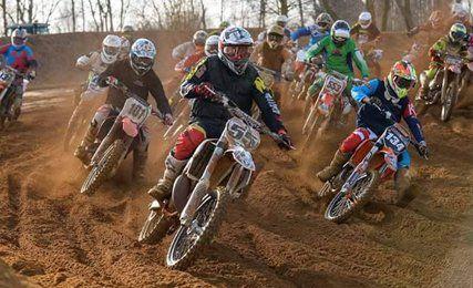 Motor cross racing