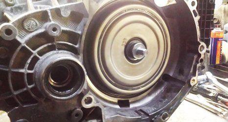 manual clutch servicing