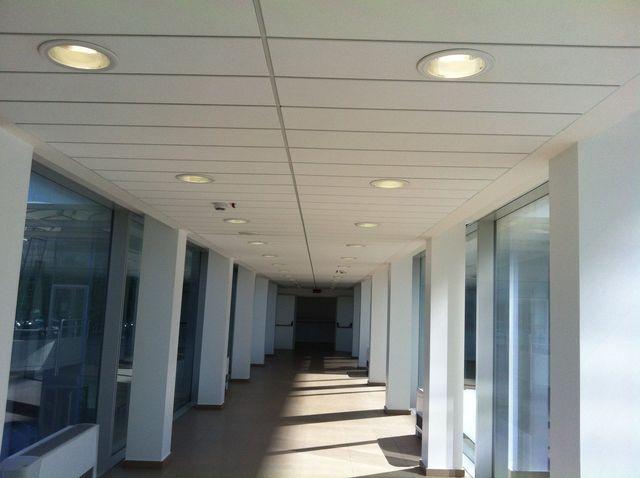 soffitto con luci