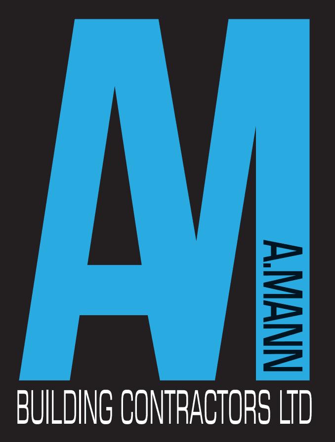 A Mann Building Contractors logo