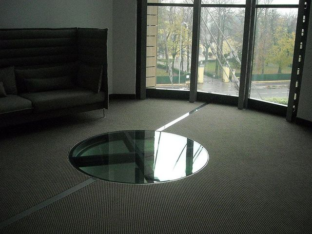 vetri per pavimenti, posa orizzontale, vetri temprati
