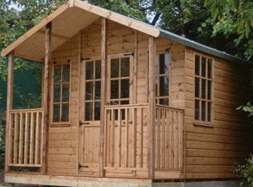 Garden sheds and summer houses installation in South West Wales