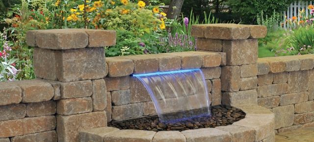 Water Features, Previous Project of landscapes built by professionals in ST Charles & ST Louis, MO