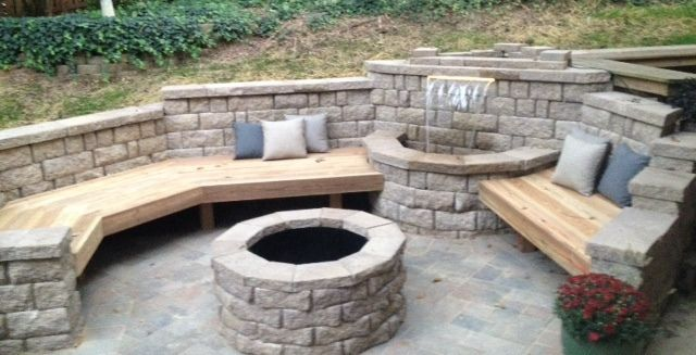 Stone Seating U0026 Patio Benches