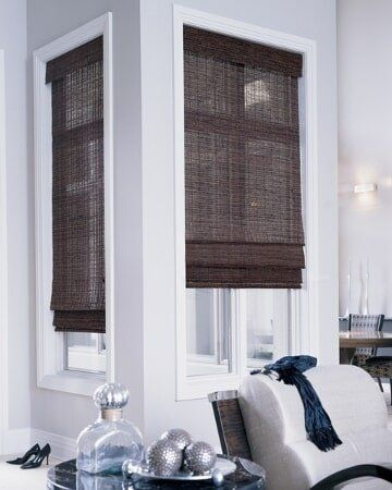 bamboo window blinds color bamboo window shades in living room sylvans phillips drapes blinds los angeles ca