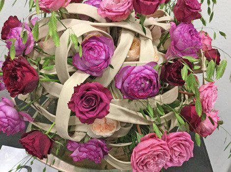 Rose rosse e rosa a Palermo