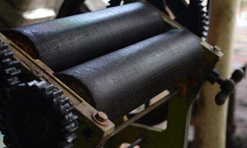 macchinario per la lavorazionie di elastomero