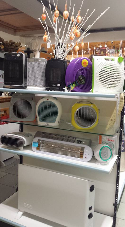 piccoli elettrodomestici in negozio
