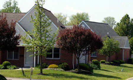 Park-like retirement community of homes