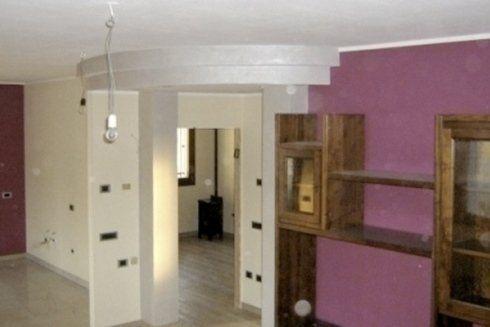 appartamento in via di ristrutturazione
