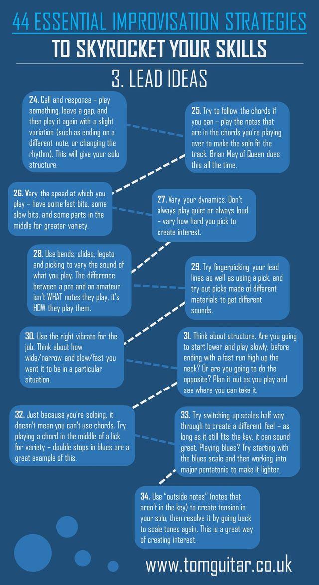 44 Essential Improvisation Strategies To Skyrocket Your Skills