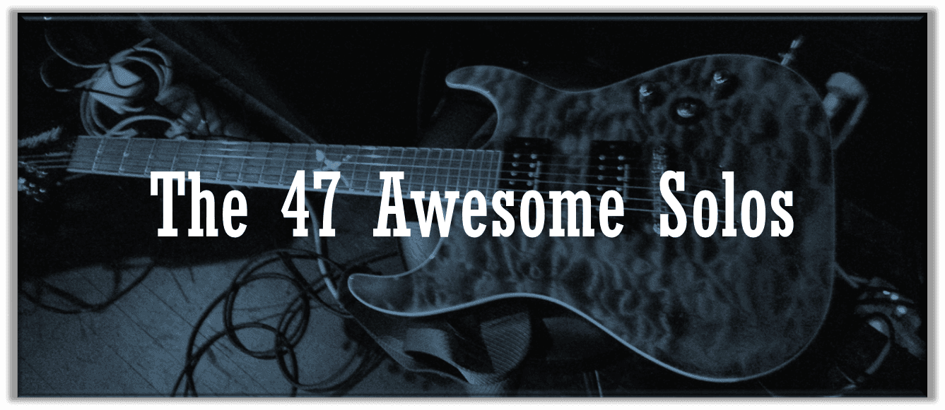 47 Awesome and Easy Guitar Solos Any Beginner Can Learn