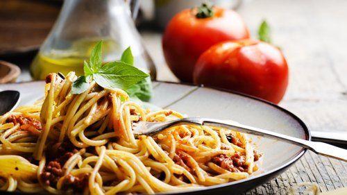spaghetti al ragu' di carne