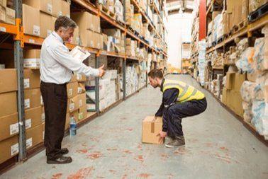 manual handling of cartons
