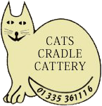 Cats Cradle Cattery Company Logo