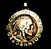 Skull - Gold