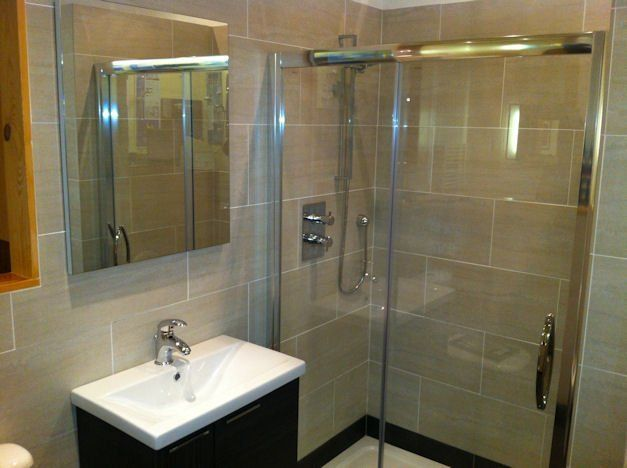 Stylish and modern bathroom showroom in Dundee