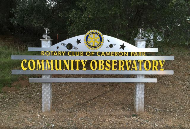 Stargazing at the Community Observatory