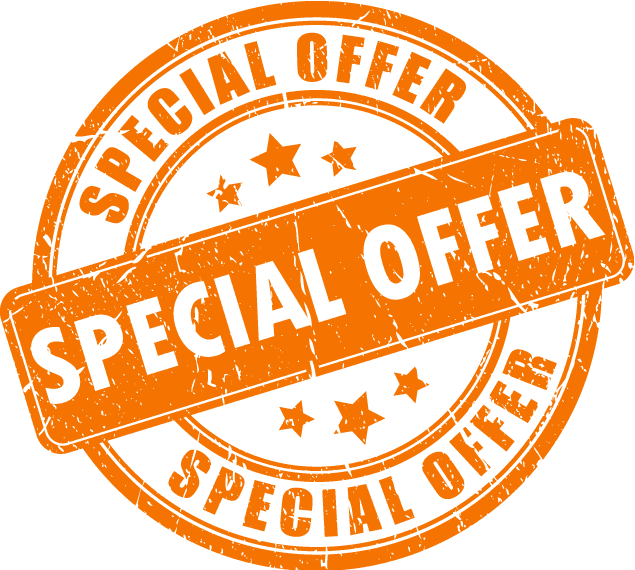 an offer just for you