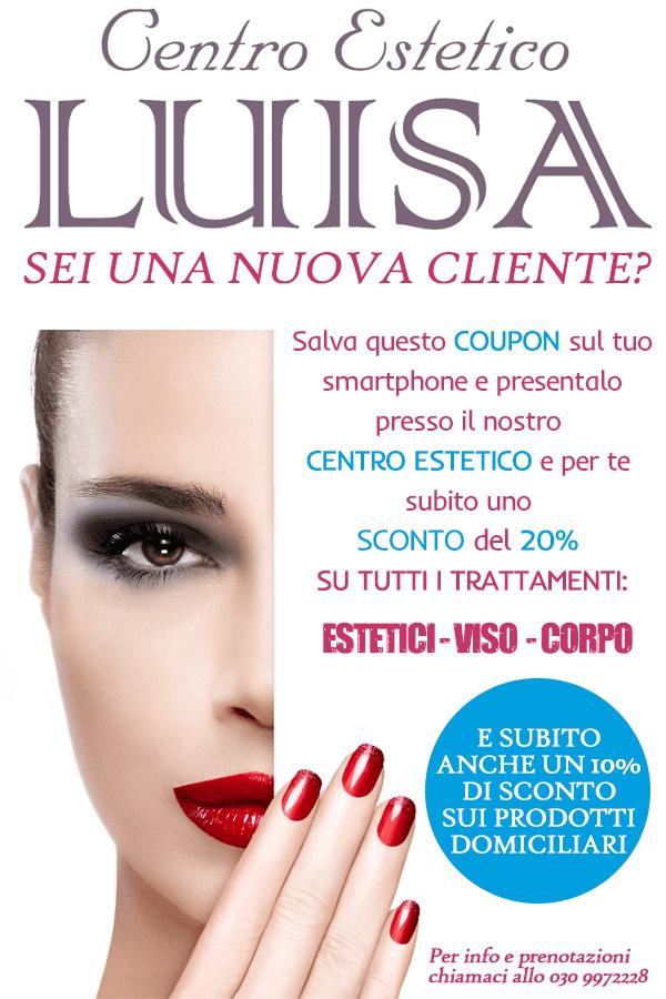coupon sconto-Centro Estetico Luisa