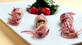 calamaretti freschi scottati