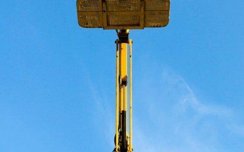 braccio di una piattaforma aerea