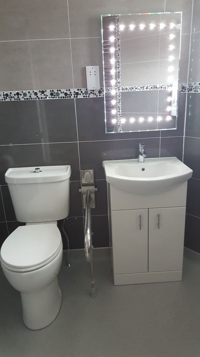 design a bathroom