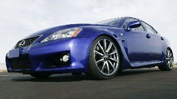 Lexus sports car