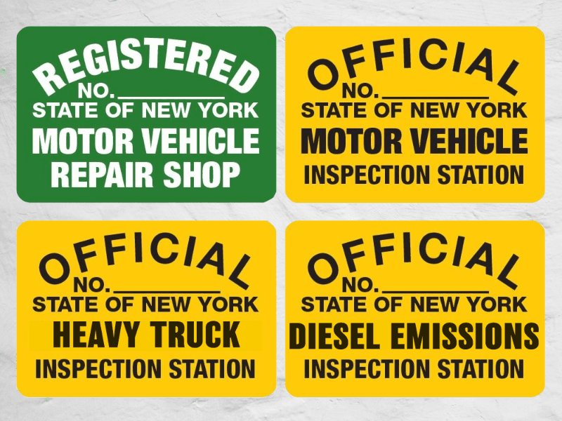 Auto truck repair service westchester ny for Motor vehicle inspection station