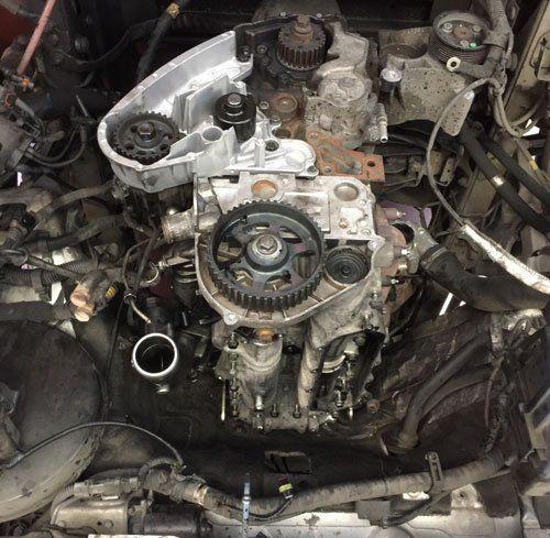 Ingranaggi di un motore