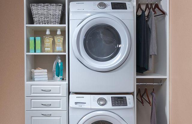 Custom Laundry Room Storage System