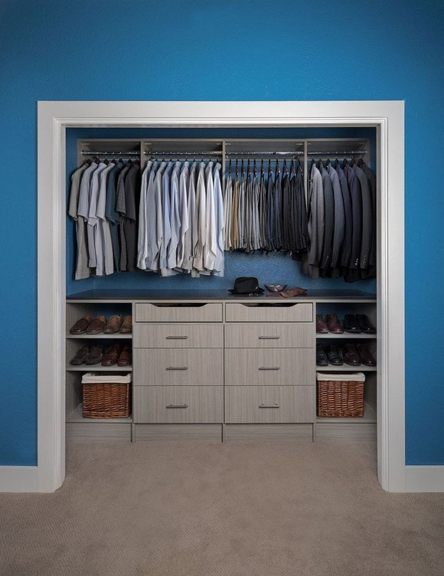 Custom Built Small Closets
