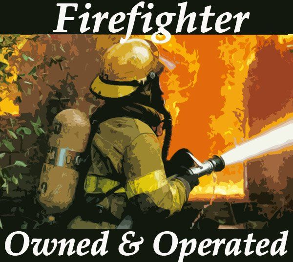 firefighter owned and operated business