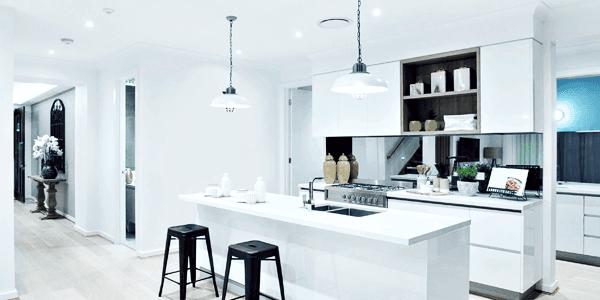 attractive kitchen interiors
