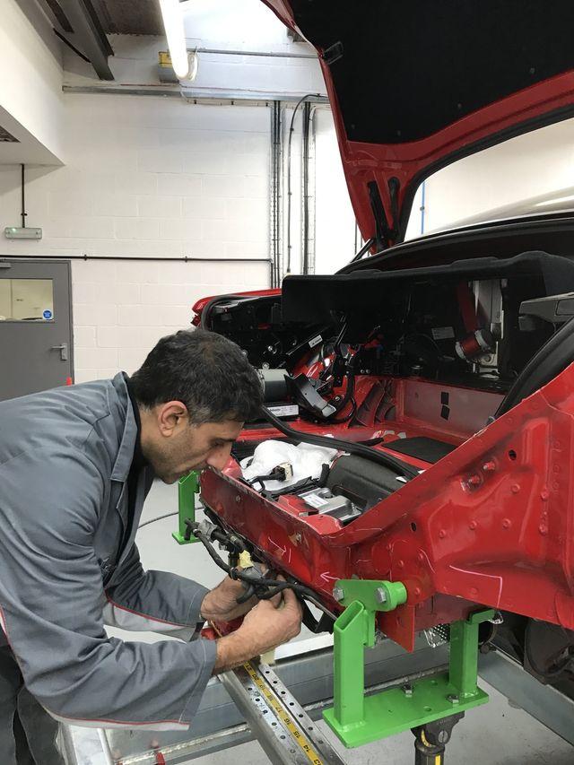 Ferrari Repair Specialists Uk Individual Specialist Cars Birmingham