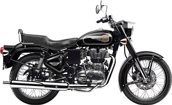 Royal Enfield Bullet - Black