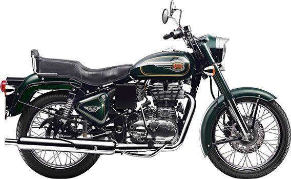 Royal Enfield Bullet - Green