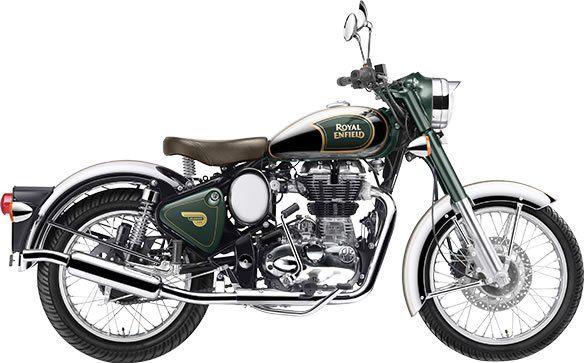 Royal Enfield Classic Chrome Green